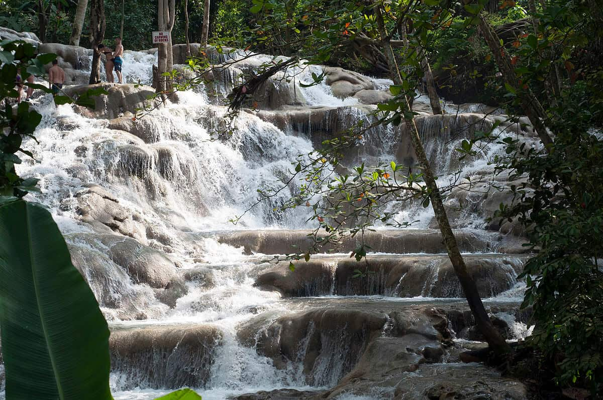 10 Things to Do in Jamaica: Climb Dunns River Falls