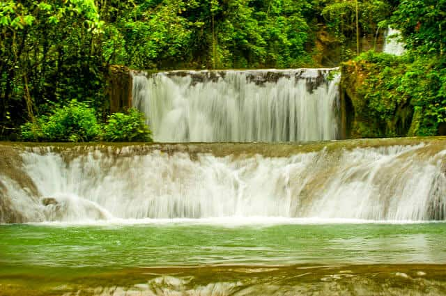 YS Falls in St. Elizabeth, Jamaica