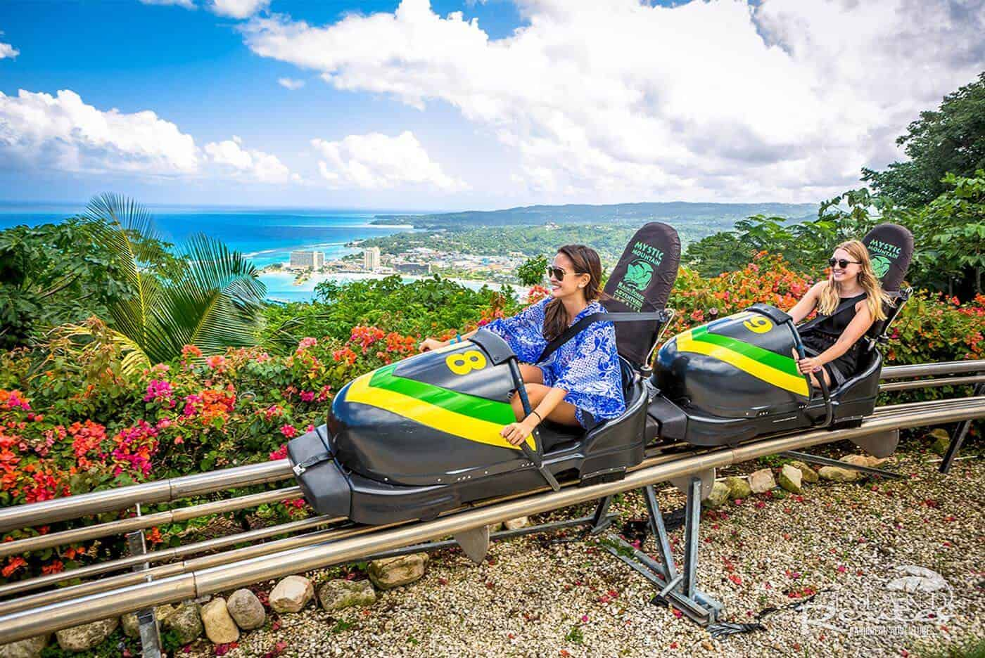 Things to do in Jamaica: Mystic Mountain Bobsled