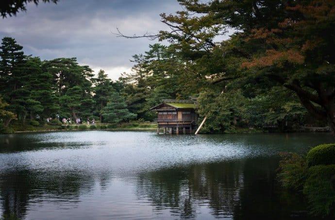 Japan Photos: Kanazawa Kenroku-en park