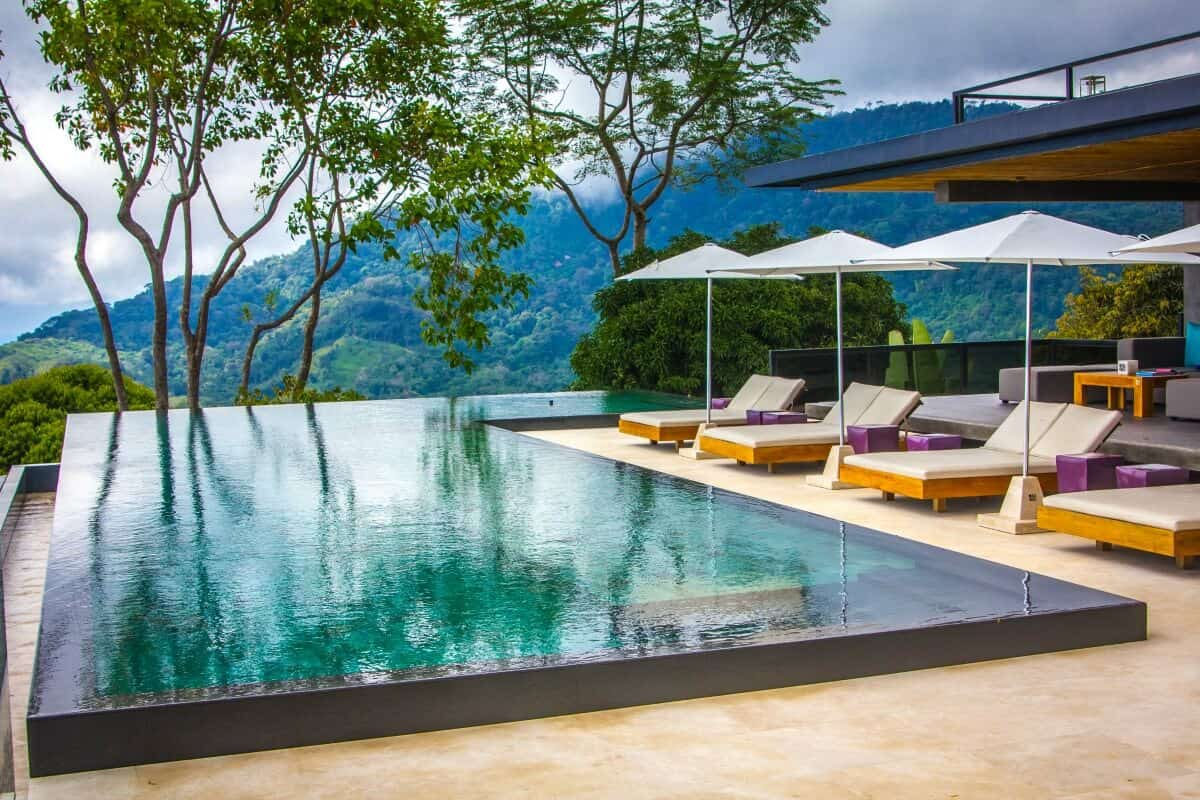 Ecotourism in Costa Rica -Kura Design Villas Infinity Pool