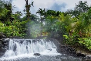 Ecotourism in Costa Rica -Tabacon Hot Springs