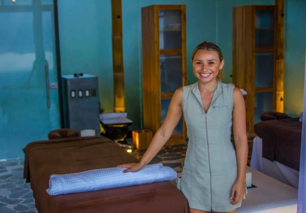 Spa Masseuse at Kura Design Villas Costa Rica