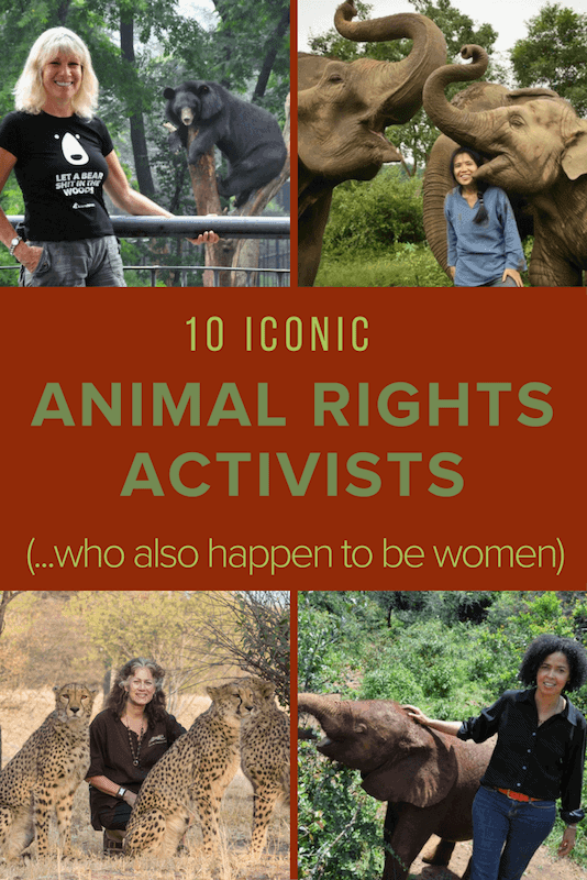 10 ICONIC ANIMAL RIGHTS ACTIVISTS