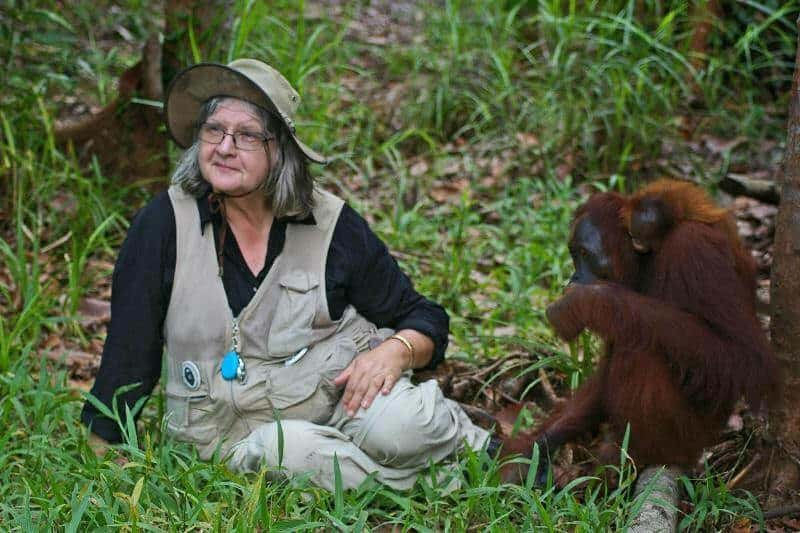 Female Hero and Primate Conservation Activist- Dr Biruté Galdikas