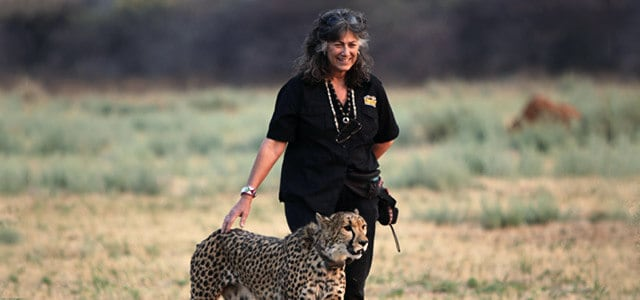 Women Heroines and Cheetah Conservation Activist -Dr. Laurie Marker