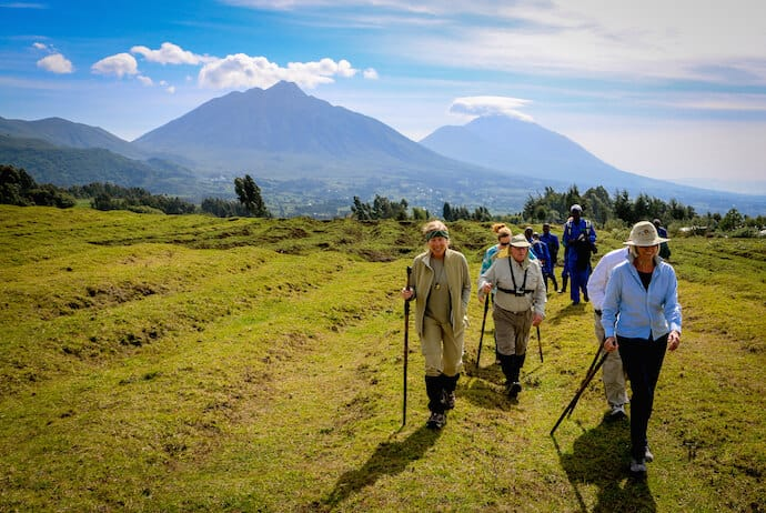 Trekking with Mountain Gorillas in Rwanda
