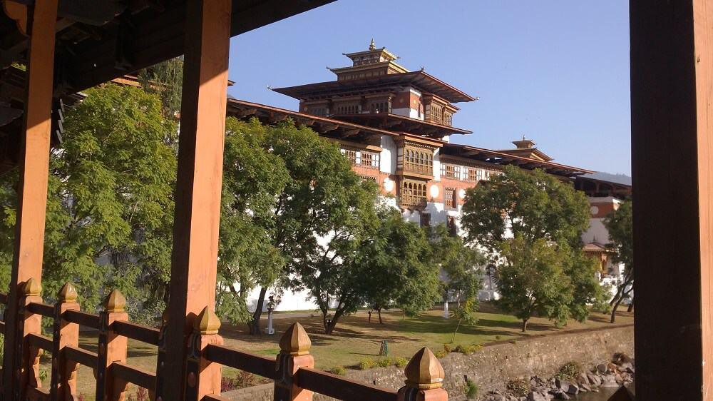 Bhutan Travel Guide - Punakha Winter Residence State Clergy via @greenglobaltrvl