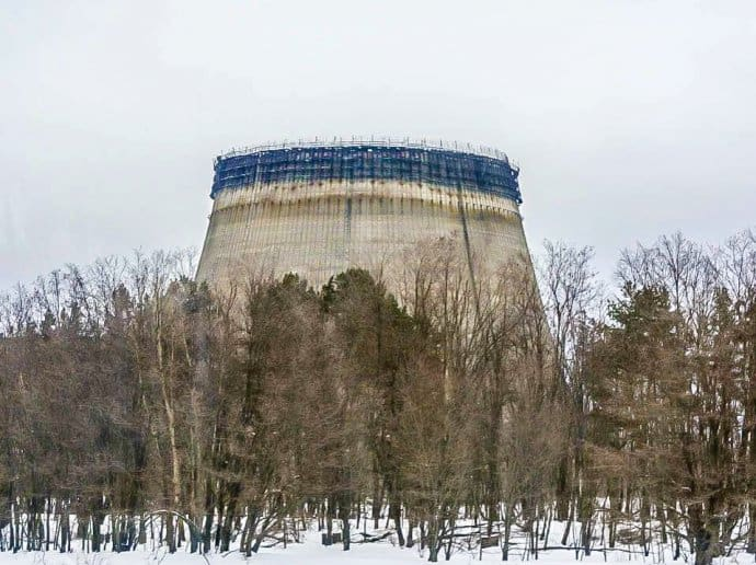 Chernobyl Today- Chernobyl Exclusion Zone Cooling Tower