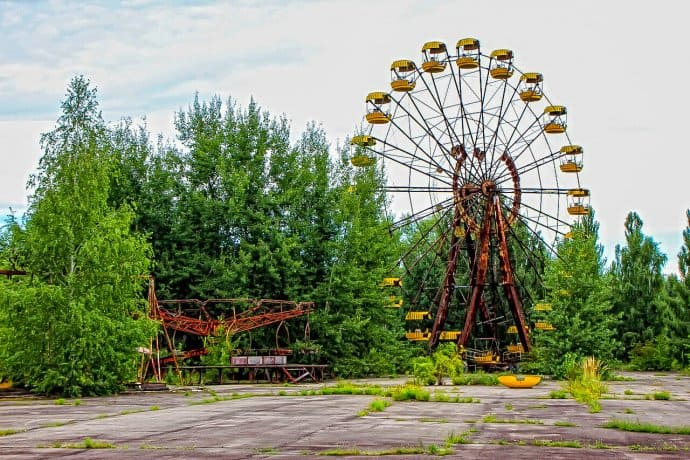Chernobyl Today- Pripyat Ferris Wheel