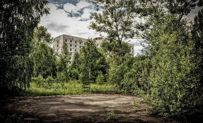 Chernobyl Today- Building in Pripyat