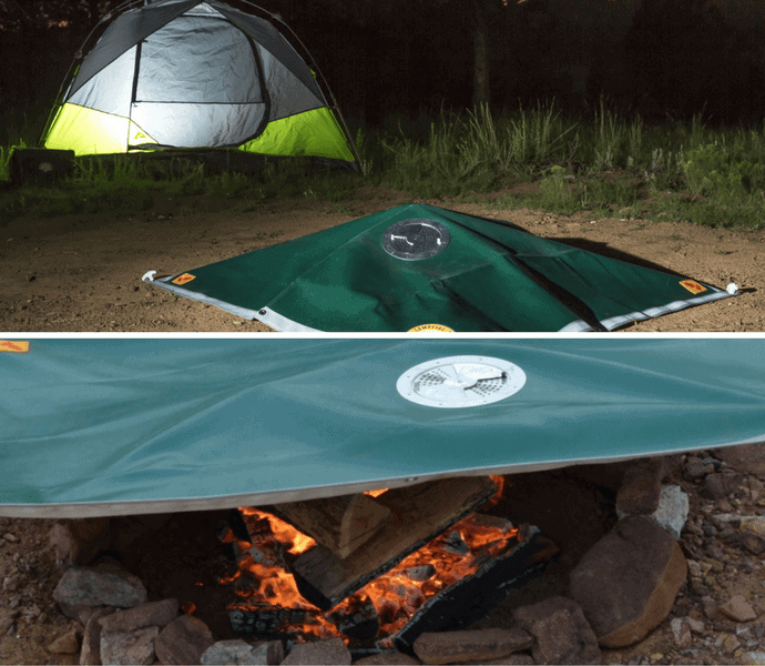 Spring Outdoor Gear Reviews - Campfire Defender Pro Camper Kit via @greenglobaltrvl