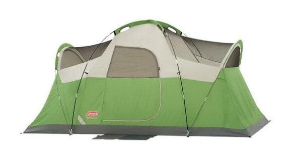 Spring Outdoor Gear Reviews - Coleman Montana 6 Person Tent via @greenglobaltrvl