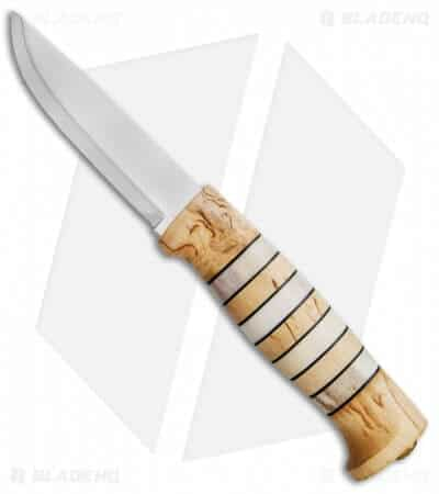 Spring Outdoor Gear Reviews - Helle Arv Bone Wood Mirror Knife via @greenglobaltrvl