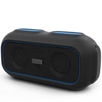 Spring Outdoor Gear Reviews - IHome IBT9 portable Bluetooth Waterproof Speaker via @greenglobaltrvl