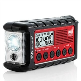 Spring Outdoor Gear Reviews - Midland E+Ready Emergency Crank Radio ER310 via @greenglobaltrvl