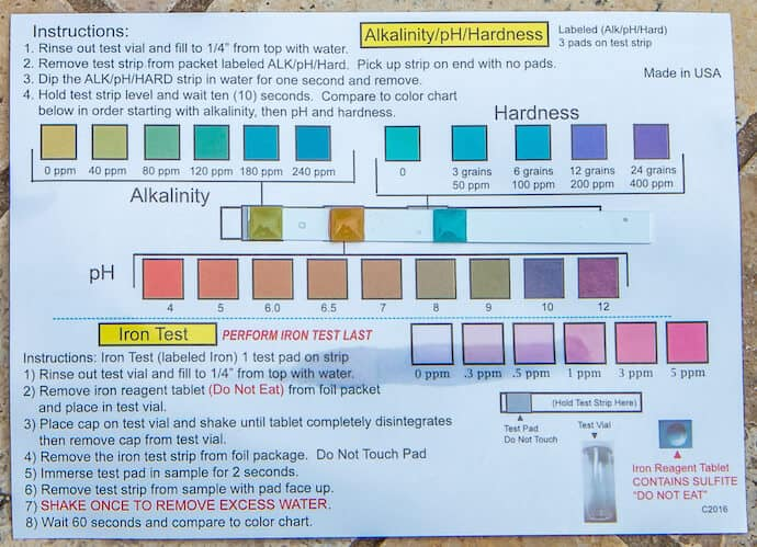 TestAssured Drinking Water Test Kit- Alkalinity