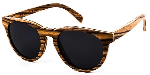 Best Clothes for Eco Travelers- Oh My Woodness Zebra Brown Grey Sunglasses via @greenglobaltrvl