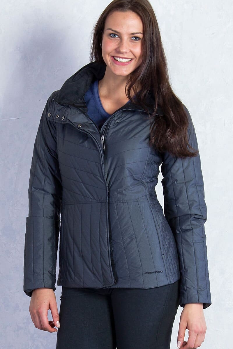 Best Travel Clothes -Exofficio Jacket cool weather Cosima Jacket via @greenglobaltrvl