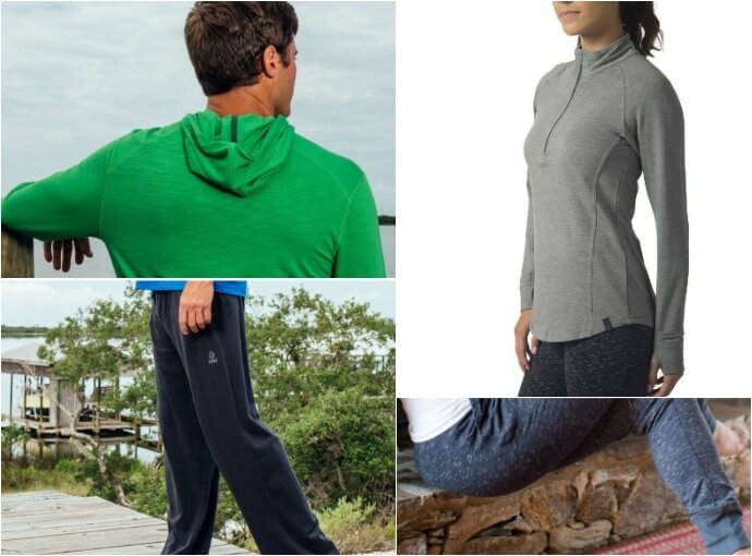 Best Active Clothing for Wellness Travelers - Tasc Performance via @greenglobaltrvl