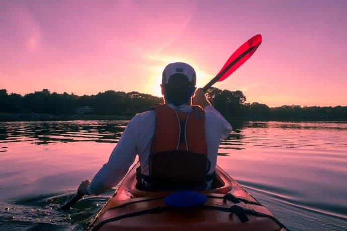Things to Do in Asheville: Kayaking French Broad River