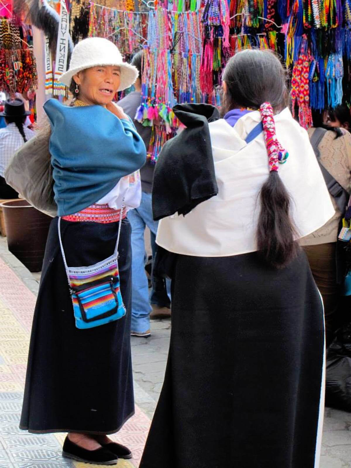 STRONG INDIGENOUS ROOTS ALIVE IN OTAVALO, ECUADOR