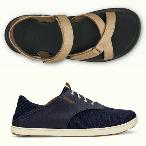 The Best Travel Clothes For Every Travel Style - OluKai Water Shoes via @greenglobaltrvl