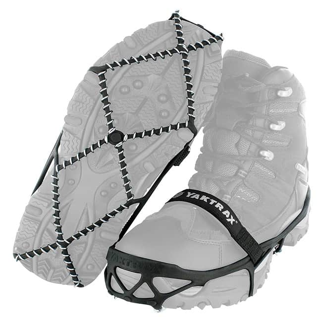Best Accessories for Cold Weather-Yaktrax Pro Traction Cleats