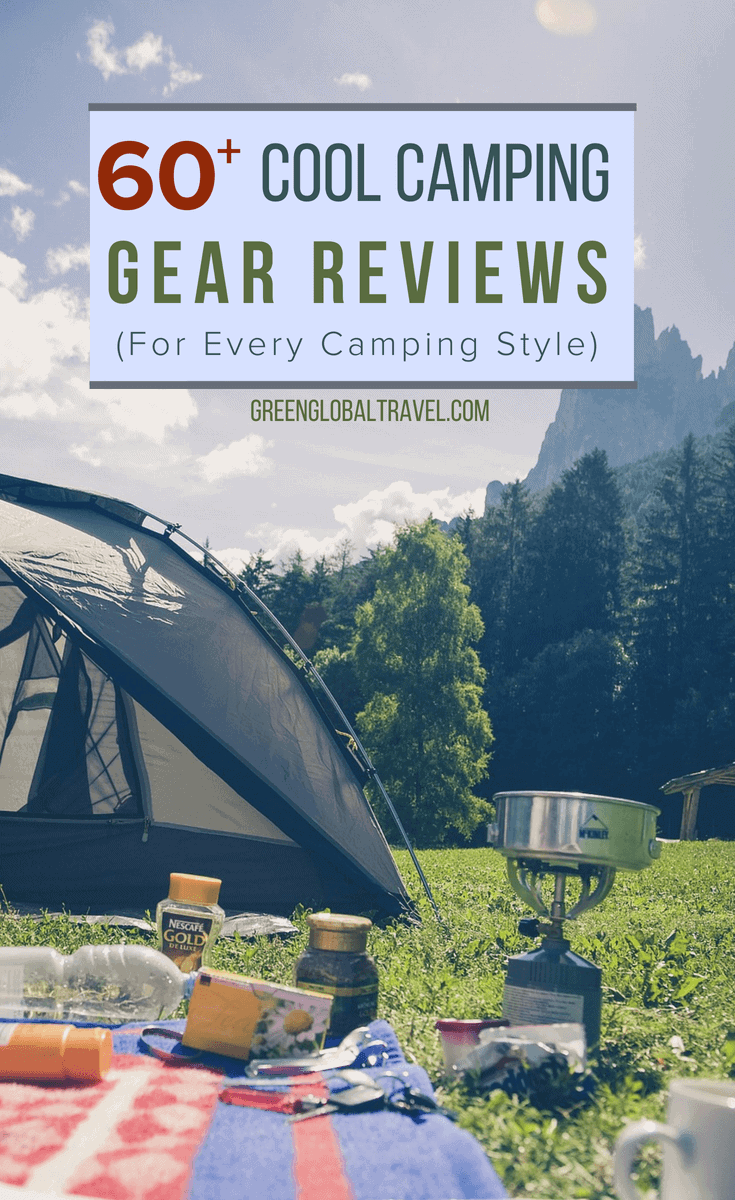 60+ Cool Camping Gear Reviews (for Every Camping Style)