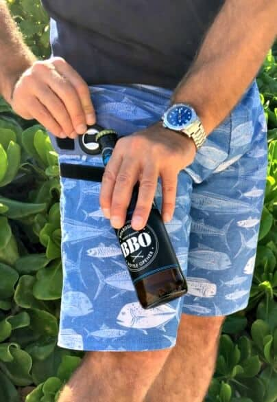Beach Vacation Packing List 2017 -BBO Shorts with Bottle Opener