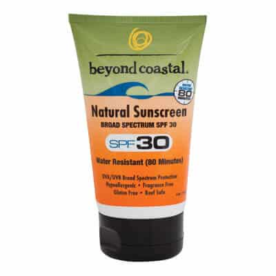 Beach Vacation Packing List 2017 -Beyond Coastal Natural Sunscreen