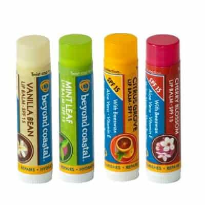 Beyond Coastal lip balm with Sunscreen