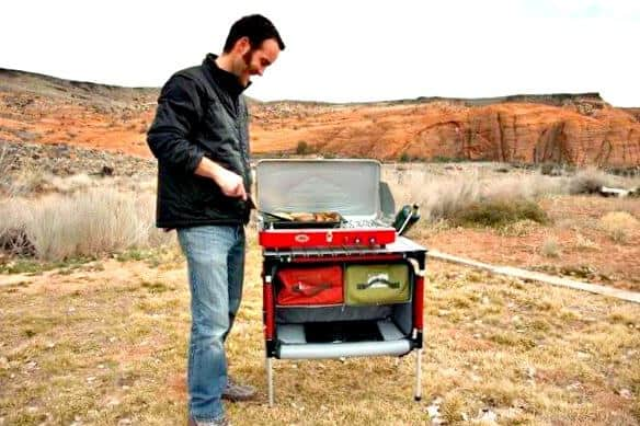 Cool Camping Gear For Summer 2017 Camp Chef Everest Stove With Sherpa Table Via