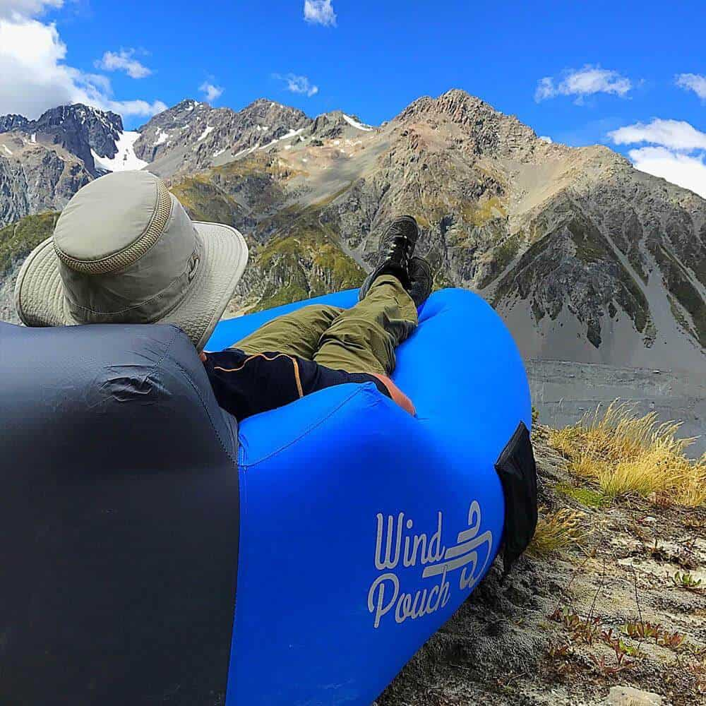 Cool Camping Gear for Summer 2017 -Windpouch Inflatable Hammock via @greenglobaltrvl