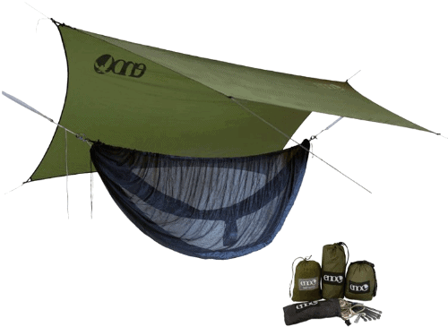 Coolest Camping Gear -ENO Sublink Hammock Shelter System Review