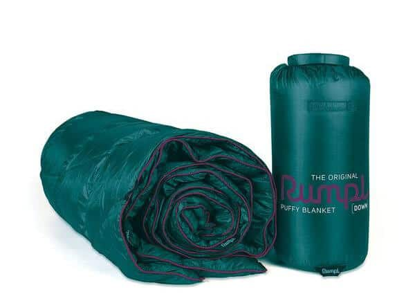 Good Camping Gear -Rumple Down Puffy Blanket