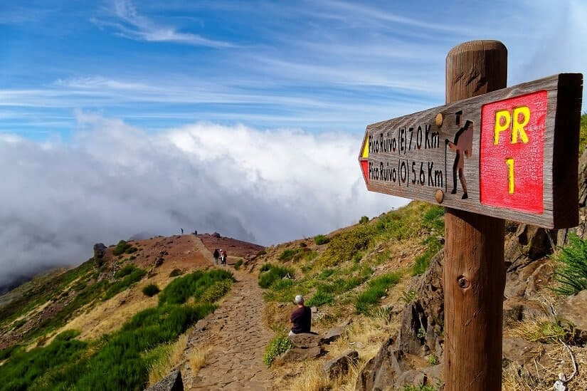 Things To Do In Portugal For Nature Lovers- Hiking in Madeira