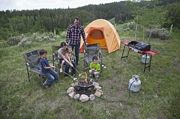 Cool Camping Gear for Autumn -Camp Chef Redwood Portable Fire Pit