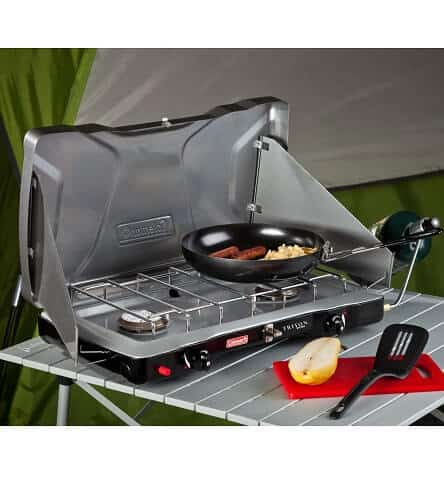 Cool Camping Gear for Autumn -Coleman Triton Propane Stove
