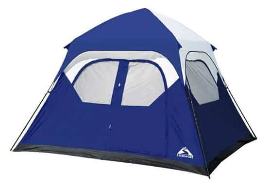 Cool Camping Gear for Autumn -Instant Family Tent by Stansport