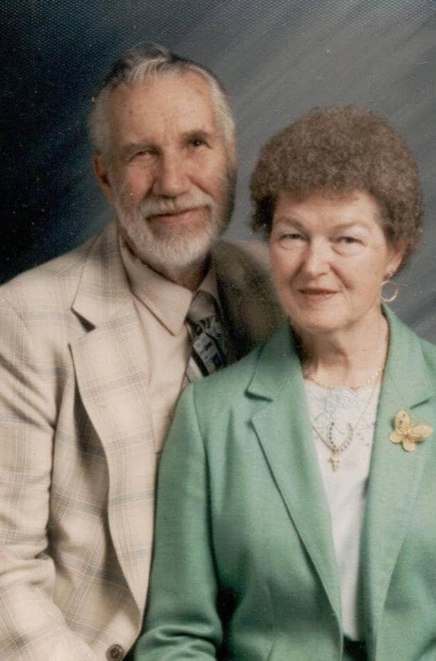 My Grandparents, James & Gladys Love