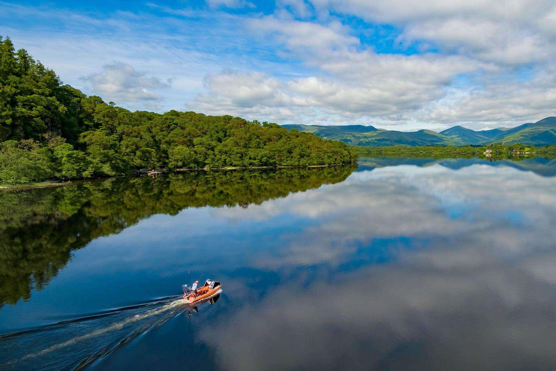 Loch Lomond, Scottish Highlands
