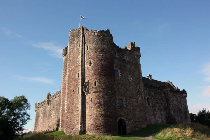 Doune Castle, Scotland used as Castle Anthrax in Monty Python's Holy Grail
