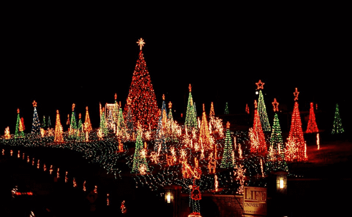 Christmas Lights in Atlanta -Lights of Life