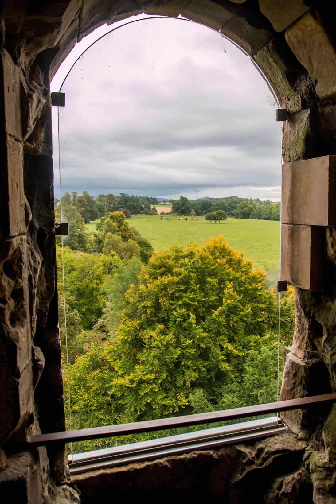 Doune Castle, Scotland- Holy Grail View