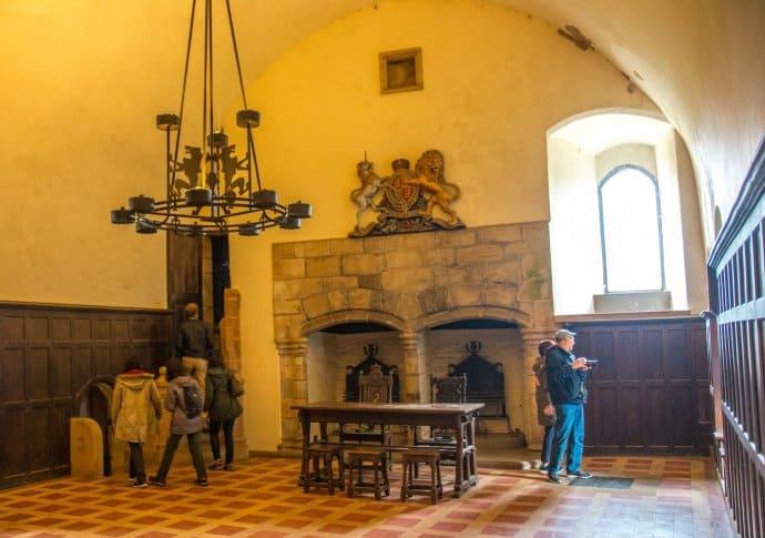 Doune Castle- Baron's Hall
