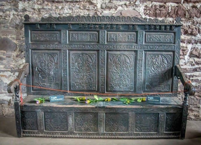 Doune Castle, Scotland- Bench