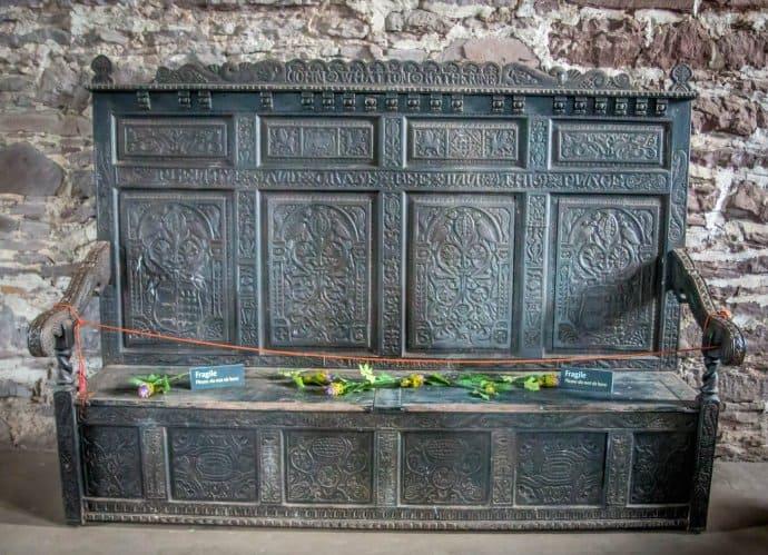 Doune Castle, Scotland- Bench