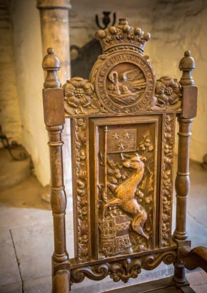 Doune Castle, Scotland- Chair