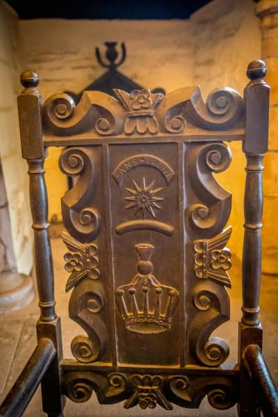 Doune Castle, Scotland- Chair 2